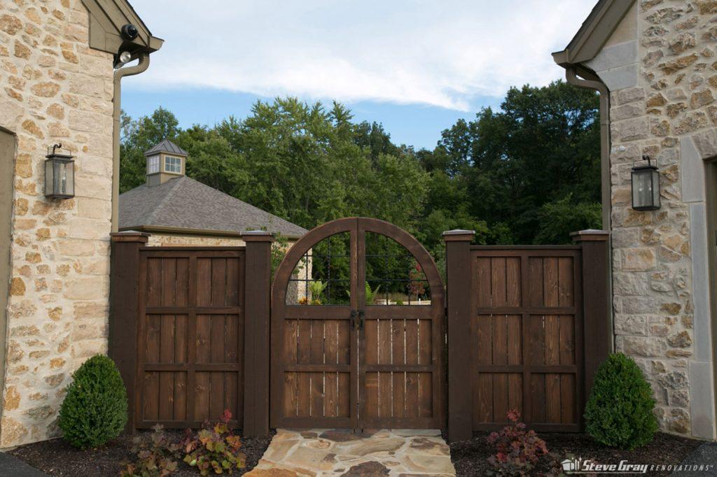 custom cedar gate