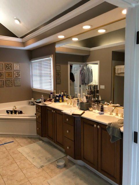 Master Bathroom remodel- Before